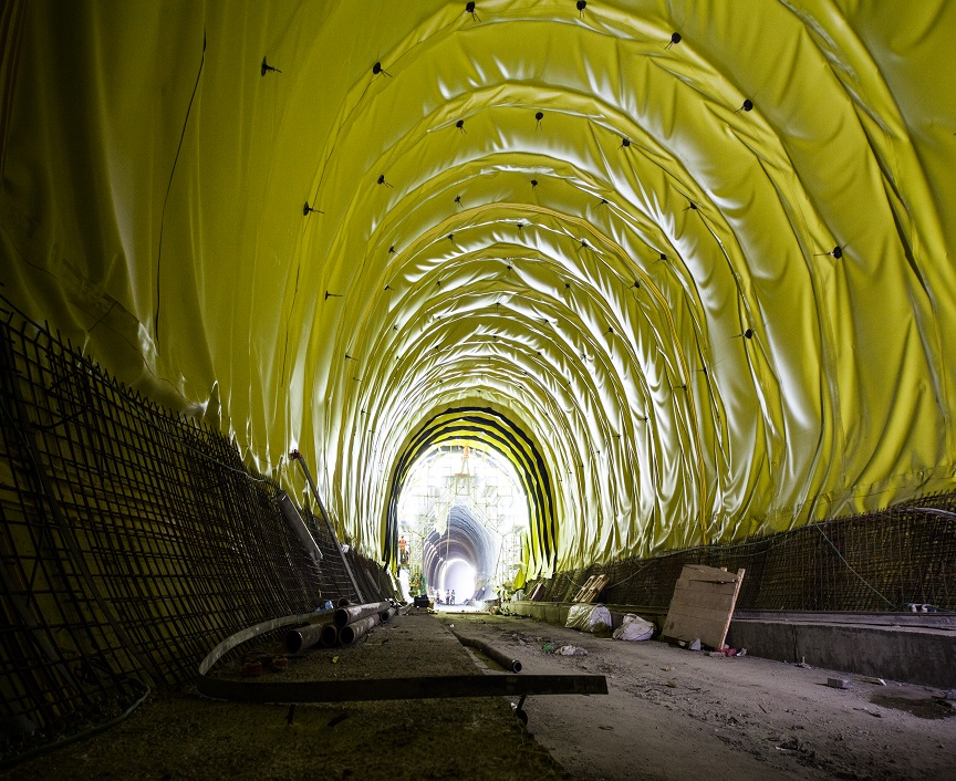 Tunnels Waterproofing -Tel Aviv-Jerusalem  Railway